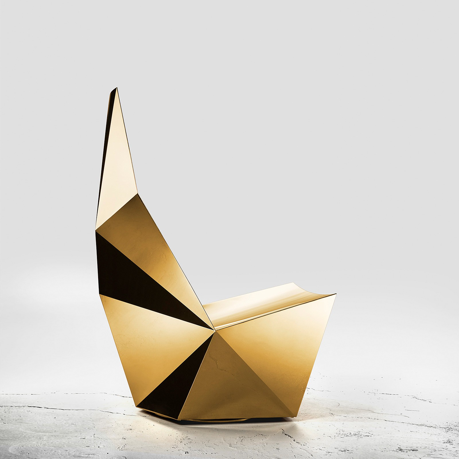 Outstanding Qtz Swivel Base Lounge Chair Gold Rossana Orlandi Inzonedesignstudio Interior Chair Design Inzonedesignstudiocom