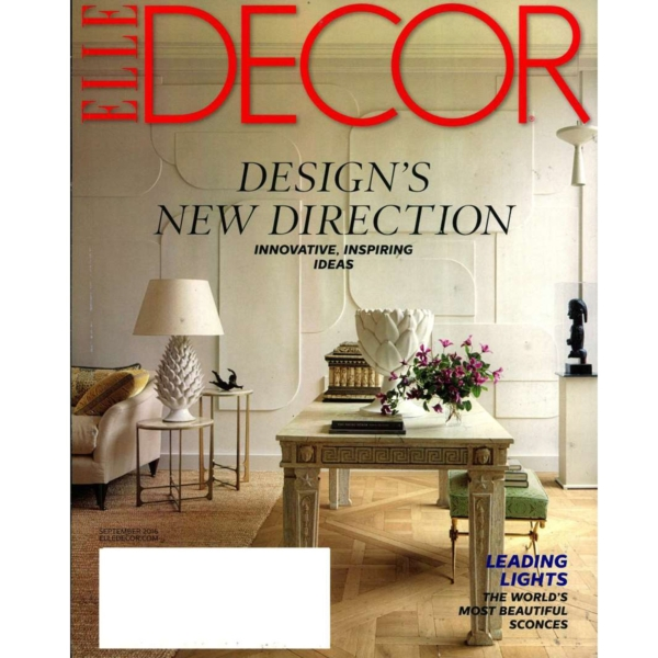 2016 - 07 - 01 ELLE DECOR USA